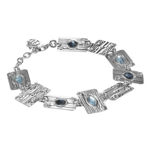 Браслет Egiza Silver Blue XBR817 BL/S