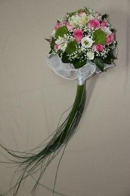 букет невесты на порт букете с хвостом из лизиантуса 11 тыс тг