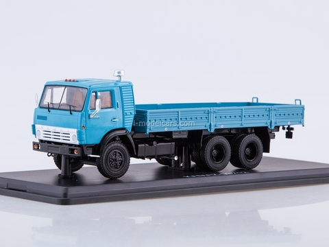 KAMAZ-53212 flatbed truck blue 1:43 Start Scale Models (SSM)