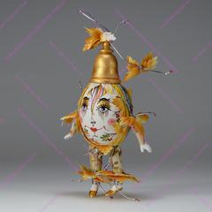Ёлочная игрушка Клоун-яйцо Осень