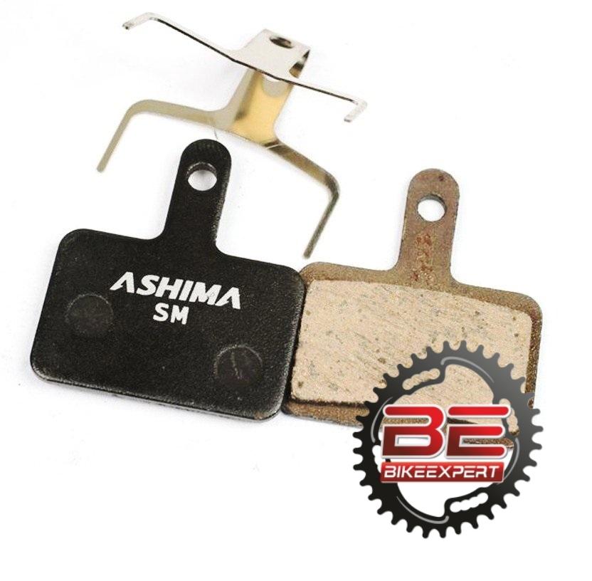 Колодки Ashima AD0102 SemiMetal для тормозов Shimano