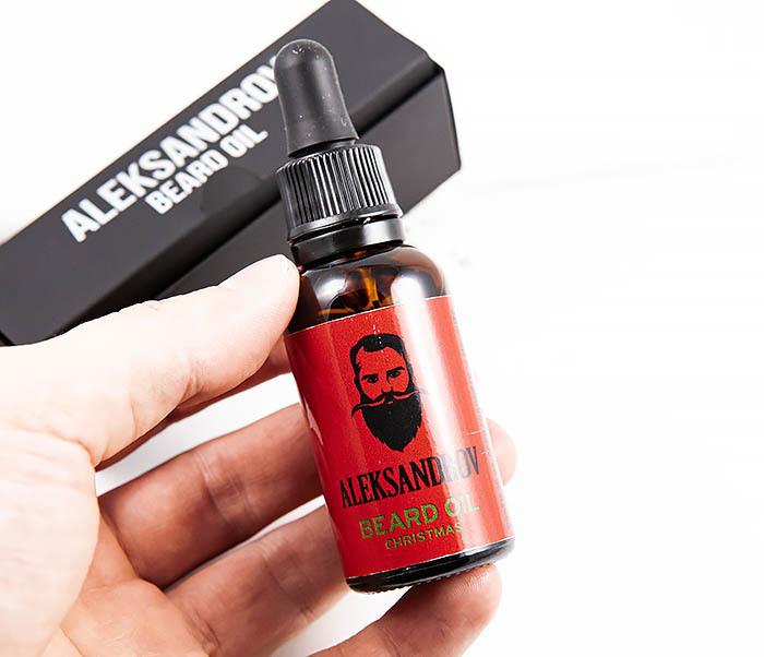 RAZ420-5 Ухаживающее масло для бороды ALEKSANDROV «Christmas» (30 мл) фото 04