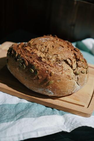 Хлеб с тыквенными семечками 550г