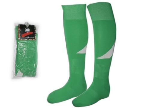 Гетры футбольные. Цвет: зелёный. Размер 39-44: K-R