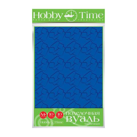 Бумага для поделок Альт Вуаль тисненная А4 10 цветов 10 листов разноцветная