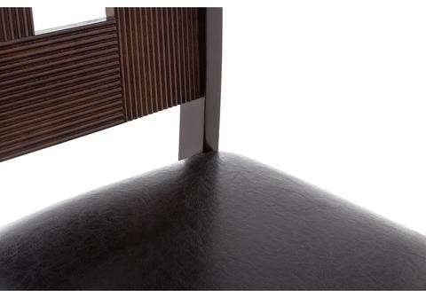 Стул деревянный кухонный, обеденный, для гостиной Kubik oak 42*42*96 Oak /Коричневый