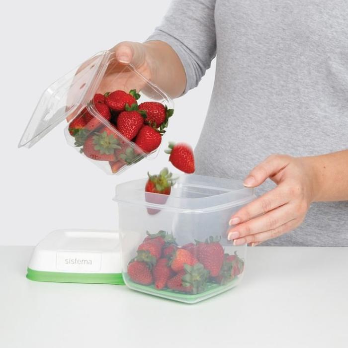 """Контейнер пищевой Sistema """"FreshWorks"""" 1,5 л"""