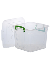 Набор из 9-ти контейнеров для хранения Эльфпласт Fresh Box квадратный с крышками