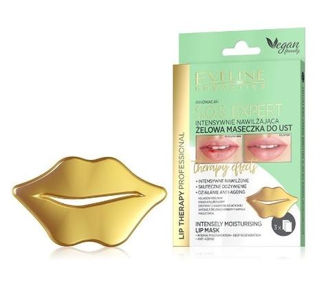 EVELINE Маска для губ Интенсивно увлажняющая гелевая Lip Therapy Professional S.O.S. EXPERT