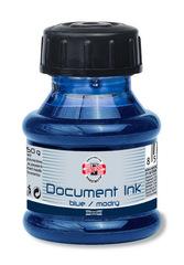 Чернила водо- и светостойкие 50г, синие, флакон