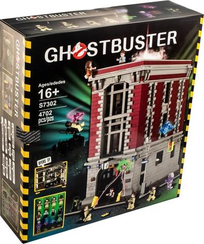 Конструктор 83001 / 7302 Ghostbusters Штаб-квартира охотников за привидениями, 4702 дет.