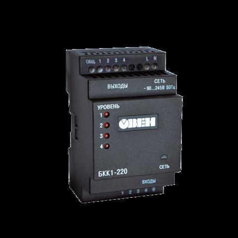 БКК1 4-уровневый сигнализатор жидкости на DIN рейку