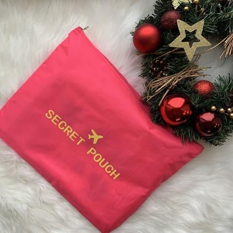 Органайзер для путешествий Secret pouch 6 штук /розовый/