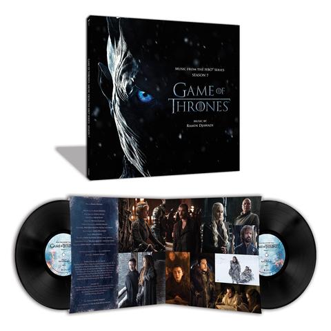 Комплект из 2-х виниловых пластинок. Music From Game Of Thrones Season 7