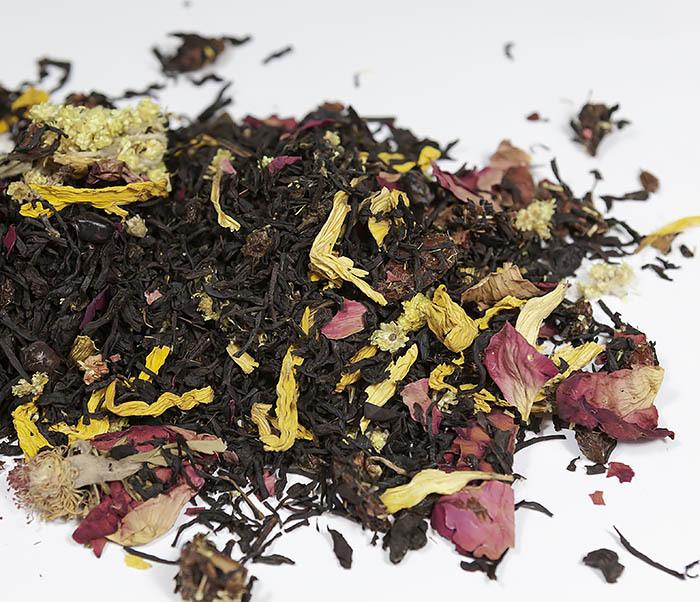 TEA-AR108 Черный ароматизированный чай «Вкус Ночи» (50 гр) фото 02