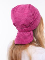 Стильная дамская бандана ярко-розового цвета