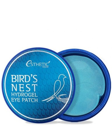Гидрогелевые патчи для глаз ESTHETIC HOUSE Bird's Nest Ласточкино гнездо 60 шт