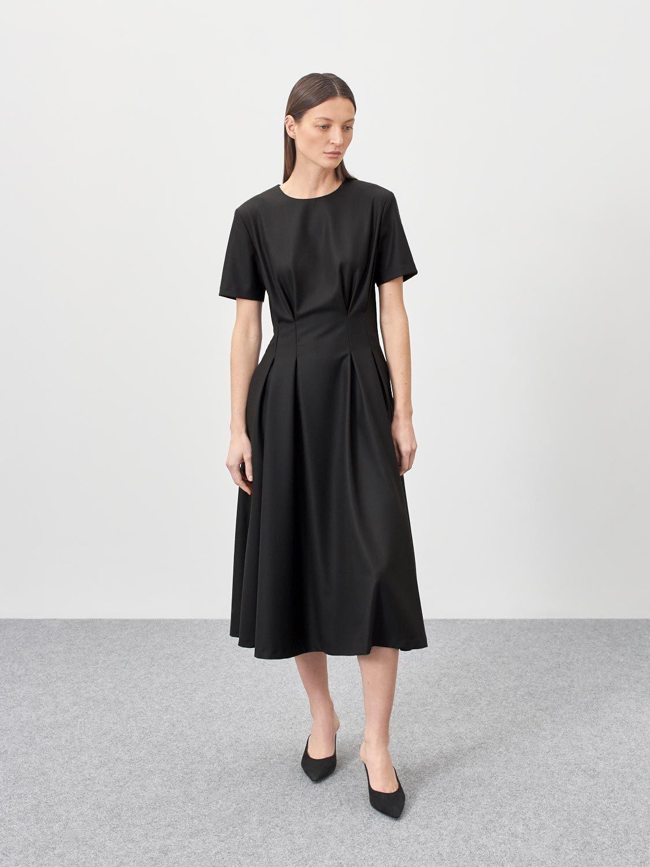 Платье Jordan с защипами на талии