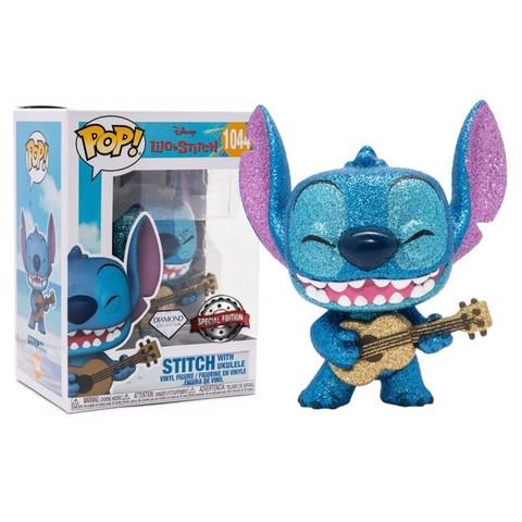 Funko POP! Disney Lilo & Stitch Stitch W/Ukulele (Exc)