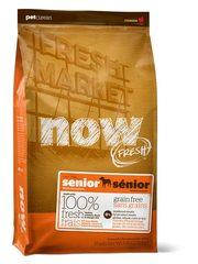 Беззерновой корм для пожилых собак, NOW FRESH, Контроль веса, с индейкой, уткой и овощами