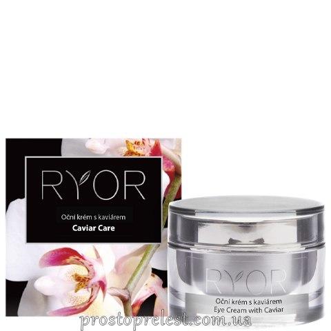 Ryor Eye Cream With Caviar - Крем кавідерм інтенсивний під очі з ікрою