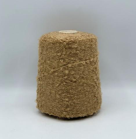 Filati BE.MI.VA (пр.Италия), art-MARION 300м/100гр, 30% мохер 30% альпака 24% вискоза 6% полиамид , цвет- Темно-бежевый ,арт.10194