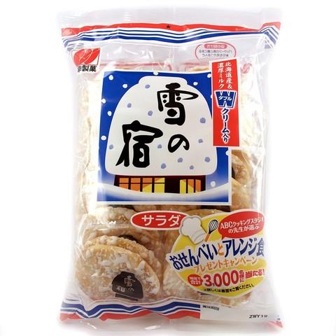 Рисовые снэки Юки но Ядо с черным сахаром 110,6 гр
