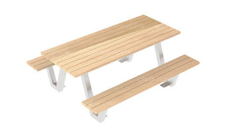 Скамейка со столом SCAM0245