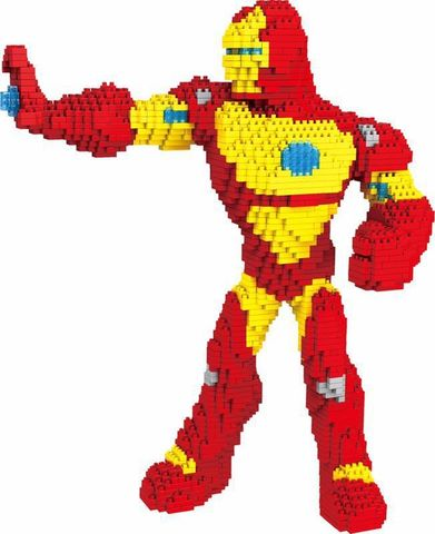 Конструктор 3D 200513 Железный человек, 2110 дет.