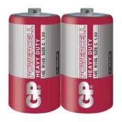 Батарейки GP 14E-S2 Powercell R14, C, трей 24/480