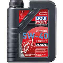 2592 LiquiMoly Синт.мот.масло д/4-т.мотоц. Motorbike 4T Synth Street Race 5W-40 SM;A3-04;MA-2(1л)