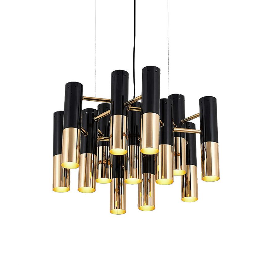 Подвесной светильник копия Ike by Delightfull (13 плафонов)