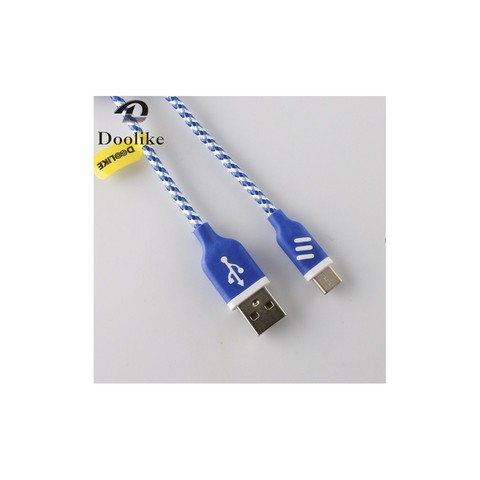 Doolike Cable USB Braid For Type-C Pink MOQ:200