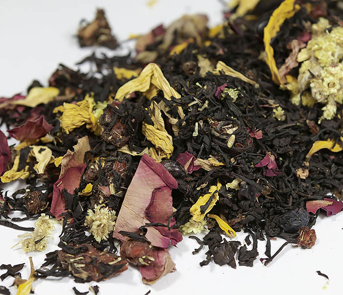 TEA-AR108 Черный ароматизированный чай «Вкус Ночи» (50 гр) фото 03