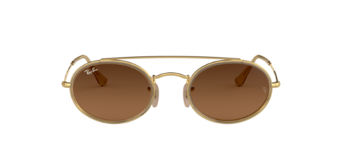 Ray-Ban Icons – Oval Double Bridge RB3847N 912443