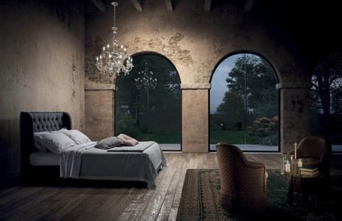 Кровать Gem, Италия