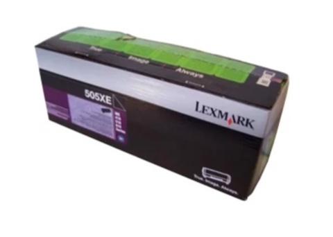 Картридж Lexmark 50F5X0E 505XE черный