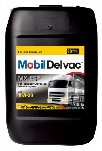 Купить на сайте HT-OIL.RU официальный дилер Mobil MOBIL DELVAC MX ESP 10W-30 масло для коммерческого транспорта артикул 150775 (20 Литров)