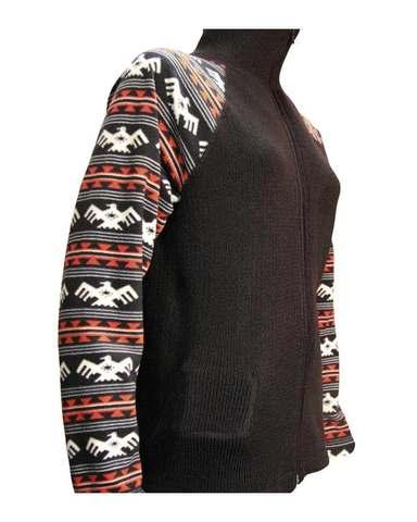 Фуфайка шерстяная с подогревом RedLaika Arctic Merino Wool RL-TW-05 (рукава флис)