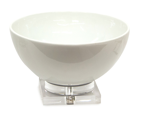 Soft White Ceramic Bowl
