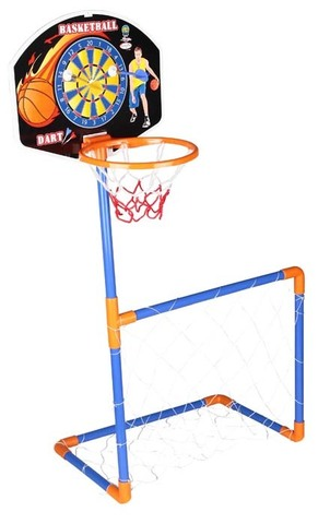Набор 3 в 1 (Баскетбольное кольцо + ворота + дартс)