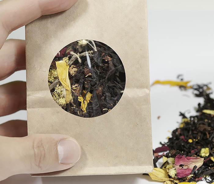 TEA-AR108 Черный ароматизированный чай «Вкус Ночи» (50 гр) фото 04