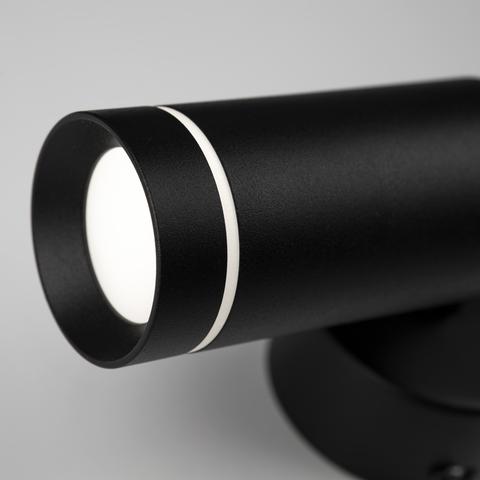 Glory SW LED черный настенный светодиодный светильник MRL LED 1005