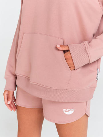 Худи жен. Oversize Pink