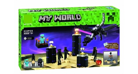 Конструктор My World 10178 Дракон Эндера