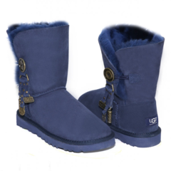 UGG Bailey Button Azalea Navy