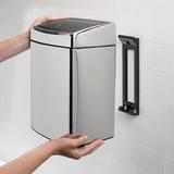 Прямоугольный мусорный бак Touch Bin (10 л), артикул 477201, производитель - Brabantia, фото 8
