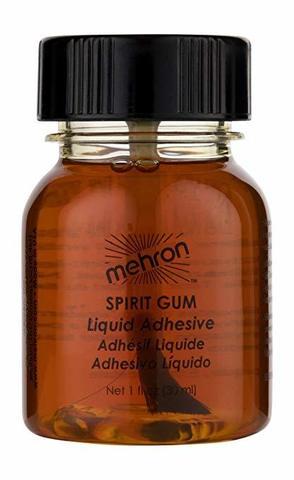MEHRON Сандарачный клей Spirit Gum with Brush, 30 мл