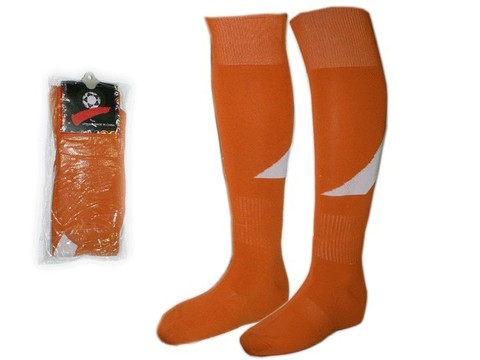 Гетры футбольные. Цвет: оранжевые. Размер: 40-44: K-R