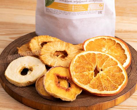 фруктовые чипсы ассорти для перекуса